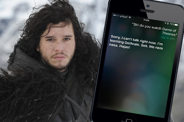 Jon Snow Siri