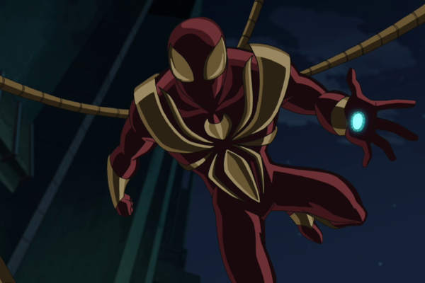 Ultimate Spider-Man Iron Spider
