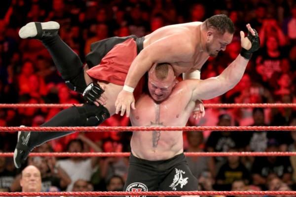 Brock Lesnar Samoa Joe