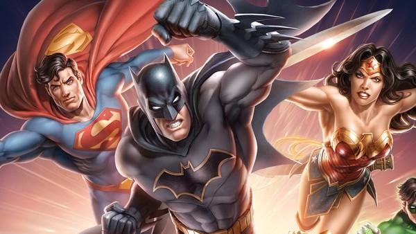 DC Animated Original Movie 10th Anniversary Blu Ray