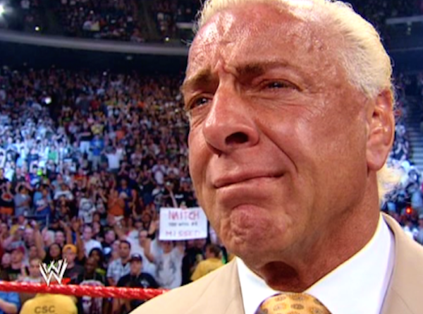 Image result for ric flair retirement raw