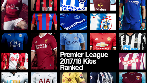 3c2f03fe0 Premier League 2017/18: Every Home Kit Ranked