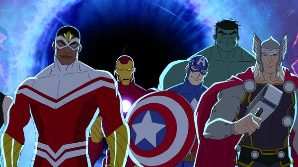 Avengers Assemble Cartoon