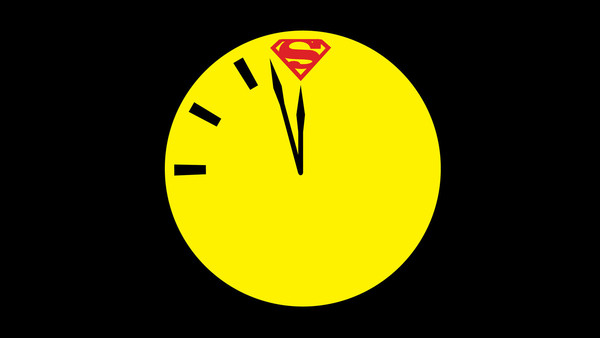 Doomsday Clock Watchmen Button