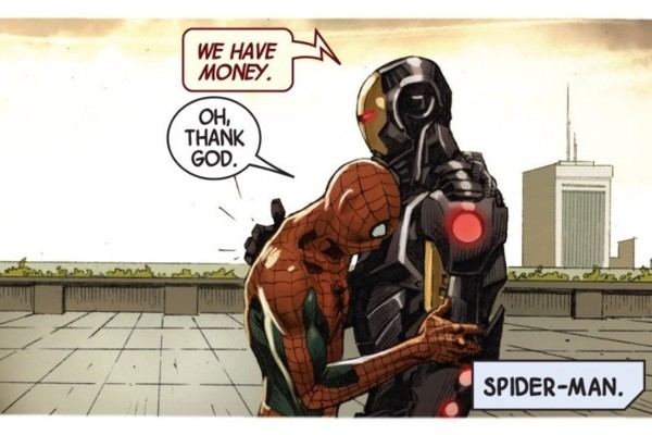 Spider-Man Poor Marvel