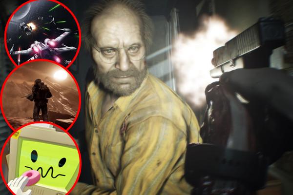 Resident Evil 7 Star Wars VR Job Simulator Farpoint