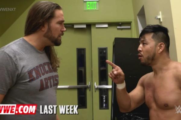 NXT 401 Cassius Ohno Hideo Itami