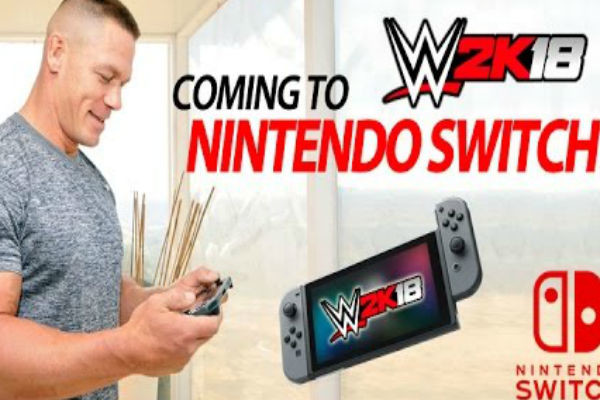 WWE 2K18 wrasslin' its way to the Nintendo Switch