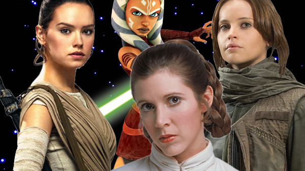 star wars 10 best female characters of the canon series