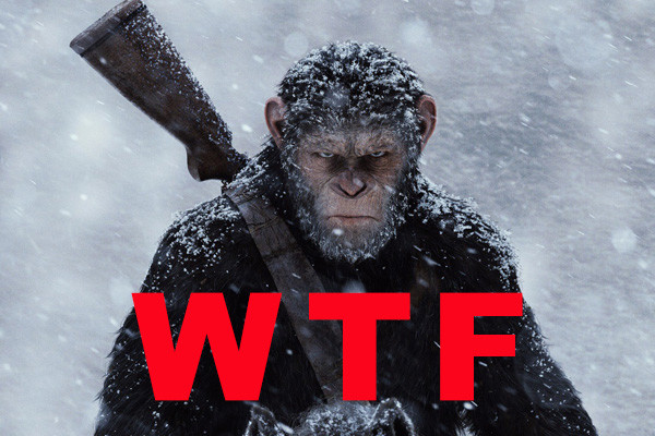 War For The Planet Of The Apes WTF