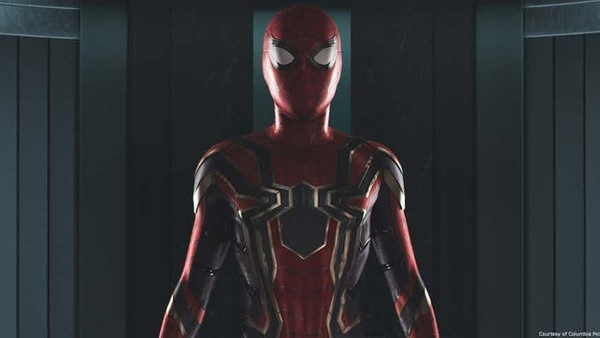 Spider Man Homecoming And Infinity War New Iron Spider Suit