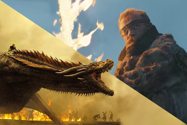 Game of Thrones Beric Dondarrion Drogon