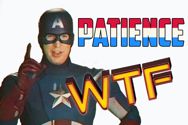 Captain America Patience