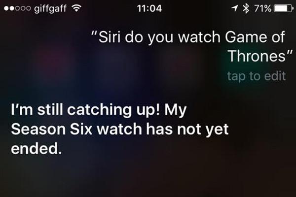 Siri Game Of Thrones 3