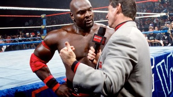 Ahmed Johnson Vince McMahon