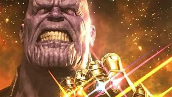 Infinity War Gauntlet Thanos