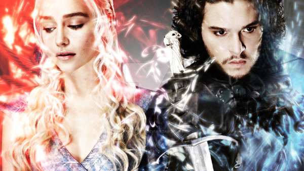 Game of Thrones Daenerys Jon Snow