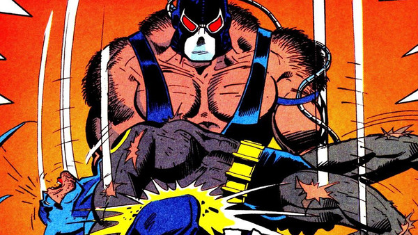 Bane Batman Knightfall Back