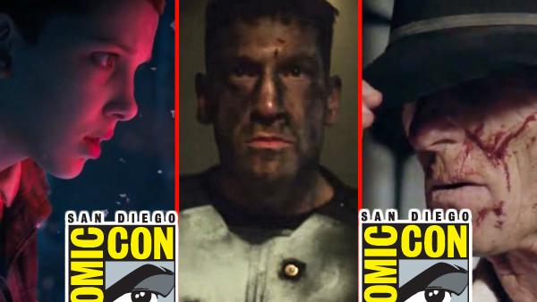 Comic Con 2017 TV Reveals