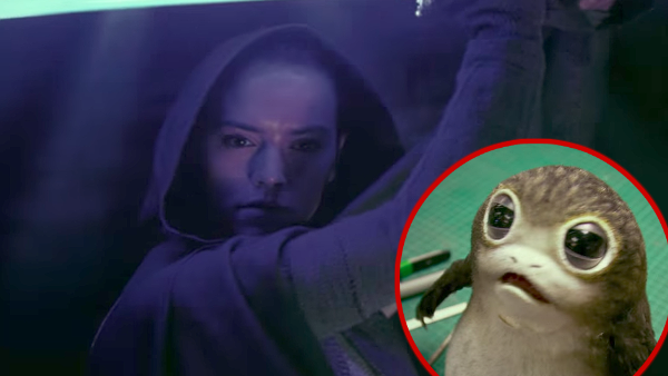Star Wars The Last Jedi Rey Porg