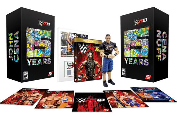 WWE 2K18 Cena Nuff Collectors Edition