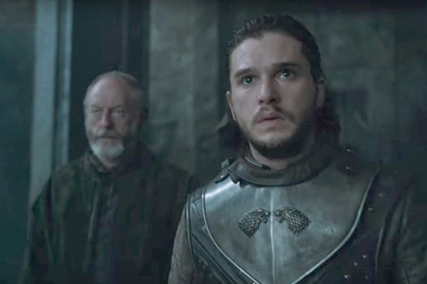 Jon Snow Ser Davos