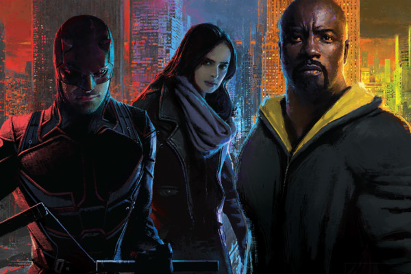 Marvel's The Defenders Poster
