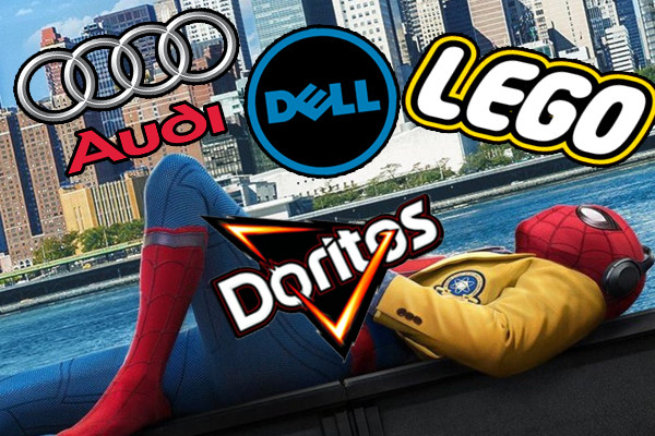 Spider Man Homecoming Audi Dell Lego Doritos