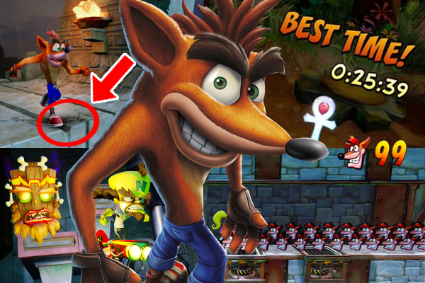 Fans have sussed out why jumping is harder in Crash Bandicoot