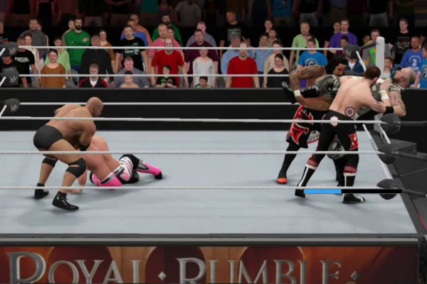 WWE 2K17 Royal Rumble