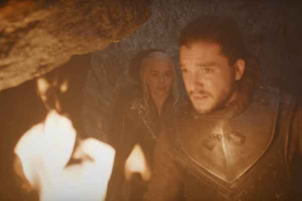 Game Of Thrones Jon Flame