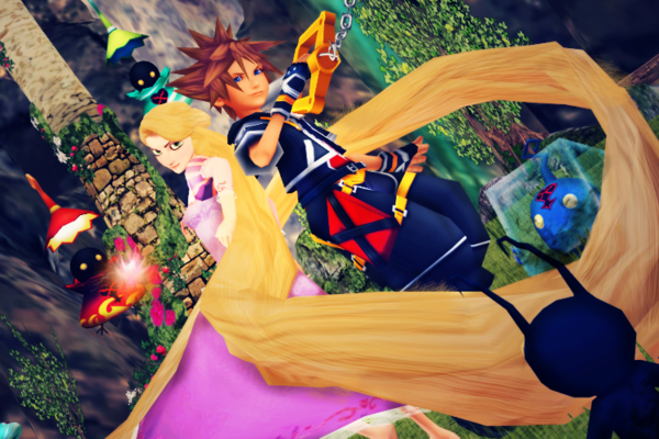 Kingdom hearts tangled