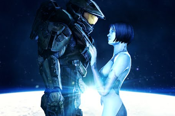 Halo Master Chief Cortana