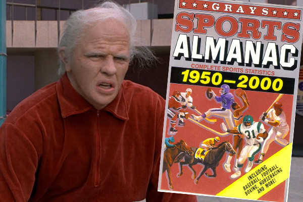 Back To The Future Biff Almanac