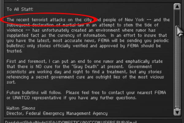 Deus Ex 911