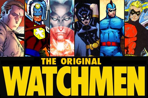 Watchmen Charlton Characters