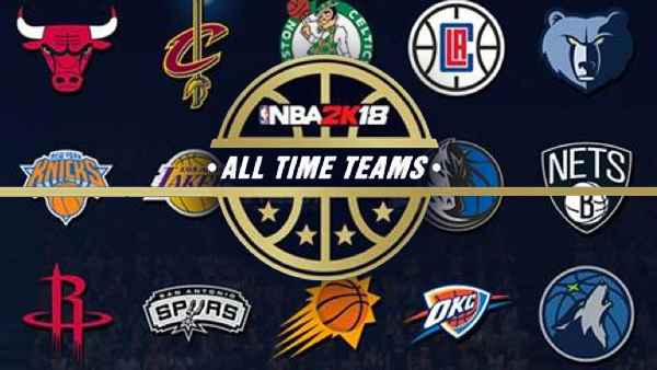 NBA 2K18: Predicting The Roster For Every All-Time Team