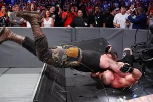 Braun Strowman Brock Lesnar