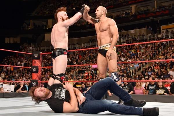Sheamus Cesaro Dean Ambrose