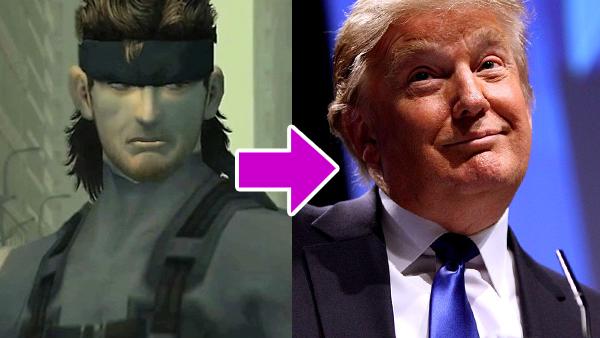 Metal Gear Solid Trump