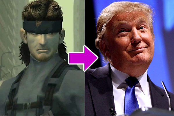 Metal Gear Solid Trump