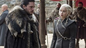 Game of Thrones Jon Snow Daenerys