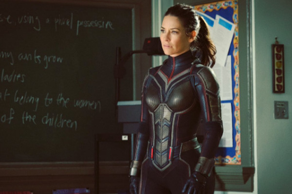 Evangelina Lilly Gives Fans A Peek At the Wasp Costume