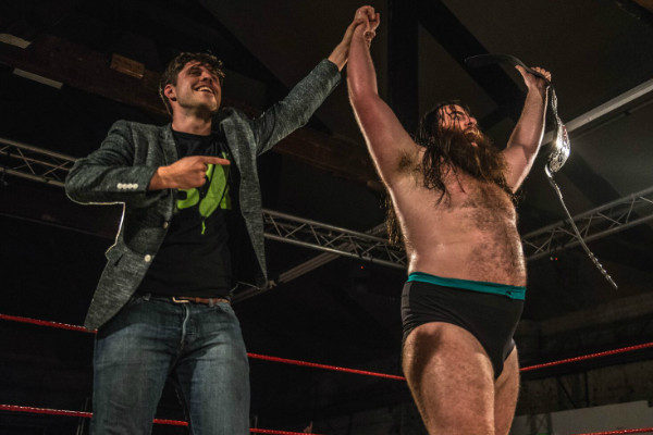 Adam Blampied led Big Damo to WCPW Title success at Built To Destroy 2016.