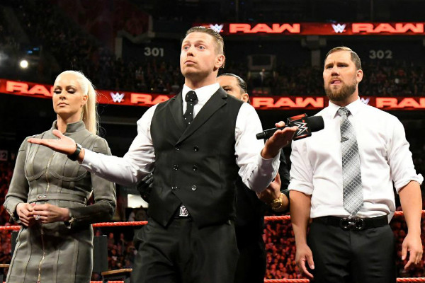 The Miz Miztourage Maryse