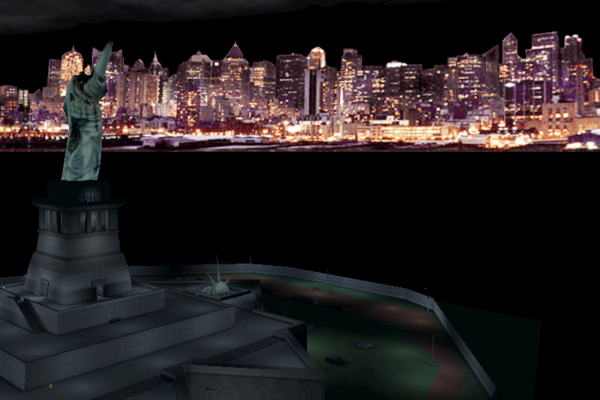 Deus Ex New York City Skyline