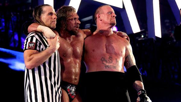 The Undertaker Triple H
