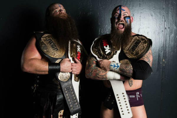 Hanson and Raymond Rowe are the current WCPW Tag-Team Champions.