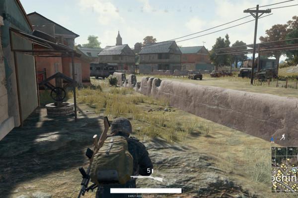Playerunknowns Battlegrounds Town