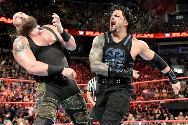 Roman Reigns Braun Strowman